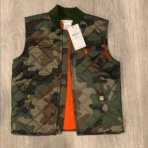 Ralph Lauren Camouflage Quilted vest